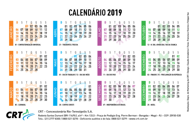 Image Result For Color Calendar
